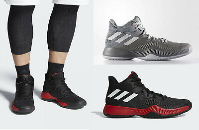 online retailer 222a8 dd54e Adidas Mad Bounce Basketball Shoes Mens Training Sneakers NEW Authentic