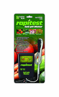 RAPITEST 1840 SOIL pH TESTER WITH CORD LAWN FLOWER PLANT TEST GARDEN TESTER