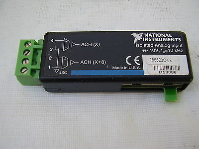 NATIONAL INSTRUMENTS SCC-AI03 2 ch Isolated Analog Input (10V, 10 kHz)