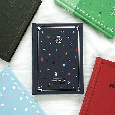 New 2NUL MY LITTLE BOOK _ Undated Diary Planner Scheduler Organizer Journal