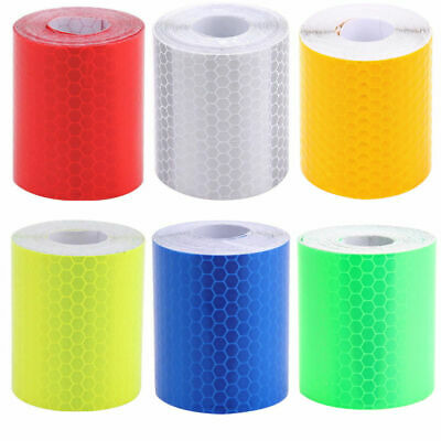 5CM x 3M New Colorful Reflective Safety Warning Conspicuity Tape Film Sticker