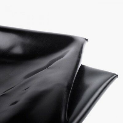 WG BLACK PVC BED SHEET Waterproof VINYL UK SELLER FAST POST