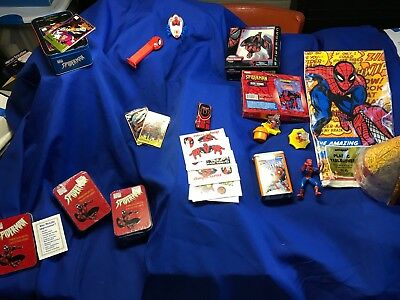 Spiderman collectables