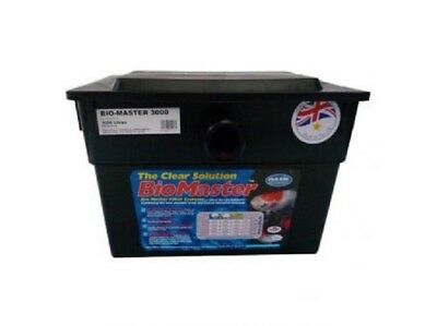 Oasis Biomaster 3000 Pond Filter, Filter Box Suitable for up to 1800 Gallon Pond