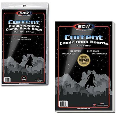 Card Sleeves 100 Current Comic Book Bags And Boards