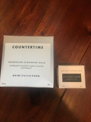 Beauty Counter Countertime Nourishing Cleansing Balm Lip Conditioner