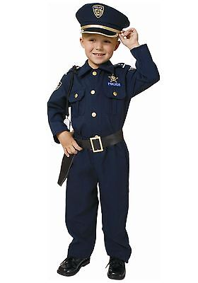Dress Up America - Deluxe Police Officer - Child Costume