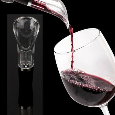 1PC Acrylic Aerating Pourer Decanter Wine Spout Pourer Wine Aerator Pourer New