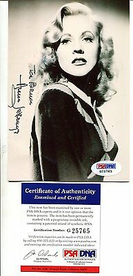 ANNE JEFFREYS autograph HAND SIGNED with PSA DNA COA  SB3110