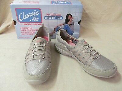 Skechers 11 M Unity Go Big Taupe Slip on Classic Fit Comfort Shoes 23055tpe
