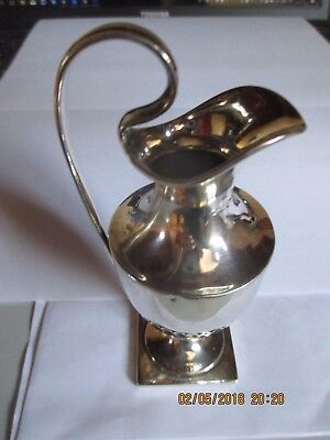 Lovely          Silver Cream Jug / creamer.  1860s. 89 gms  BUN HEAD MARK