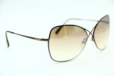 32508ec61e8 Tom Ford Tf 250 48F Colette Brown Gradient Authentic Sunglasses 63-12 W case