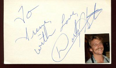 DARBY HINTON  autograph HAND SIGNED 5713
