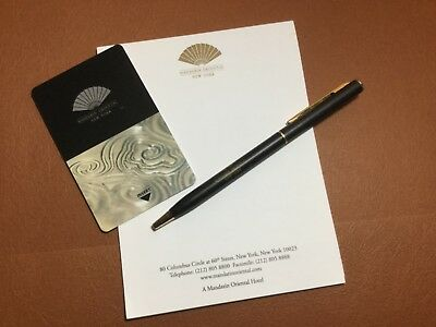 Souvenir Set of Hotel Key Card + Pen + Stationery form World Class Hotels