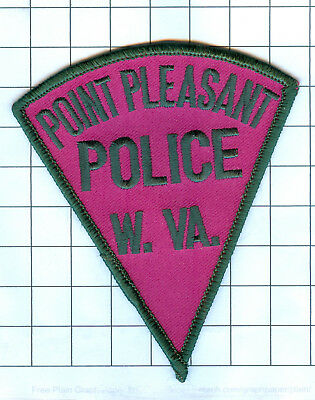 Police Patch  - West Virginia - Point Pleasant  W. VA.