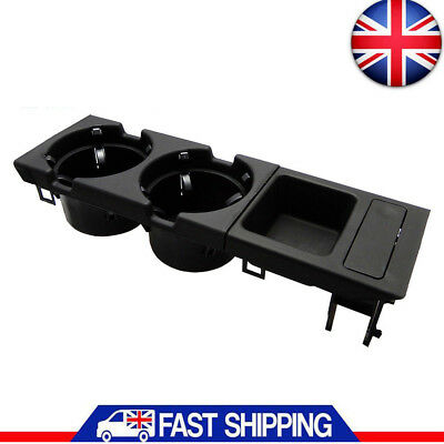 Genuine BMW Cup Holder & Oddments Tray For 3 Series E46 - Black 2018