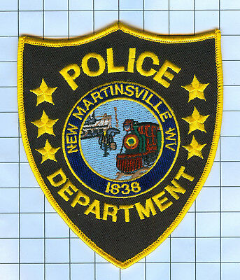 Police Patch  - West Virginia - New Martinsville WV 1838