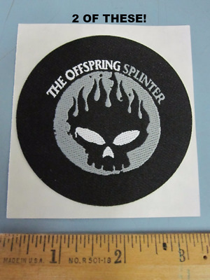 The Offspring 2003 Splinter 2 Promotional Sticker Patches New Old Stock Flawless
