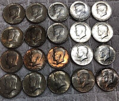 $10 1964 Kennedy Half-Dollars - 90% Silver 20-Coin Full Roll