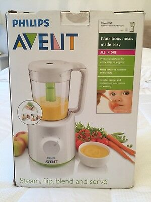 Phillips Avent Baby Food Steamer and Blender - Used - Great Condition