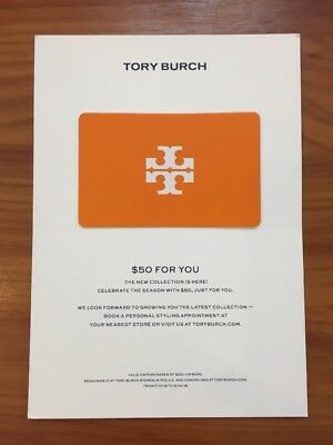 5a0581161b3c Tory Burch  50 Coupon Card OFF  250 In Store or Online Valid 7 17 to