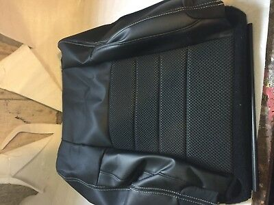 2014 ram 1500 leather drivers back seat cover