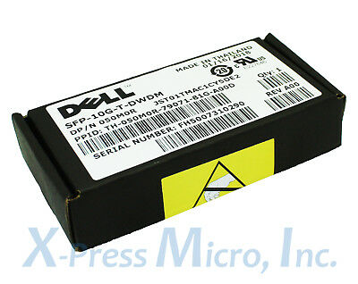 New Factory Sealed Dell SFP-10G-T-DWDM 50M0R With 90 Day Warranty