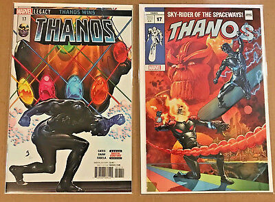 Thanos #17 JG Jones Silver Surfer #4 Homage  NM (Ltd to 3000) + Legacy cover