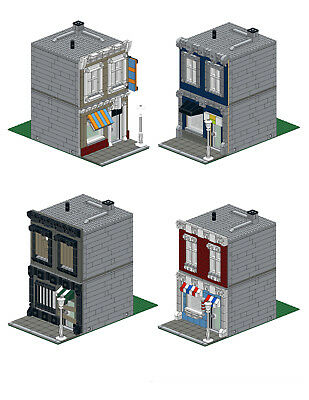 Lego Office Tower Custom Modular Building Moc Instructions