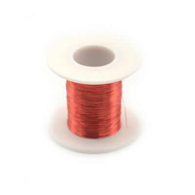 100m/Roll Red Magnet Wire 0.2mm QA Enameled Copper Wire Magnetic Coil Winding CS