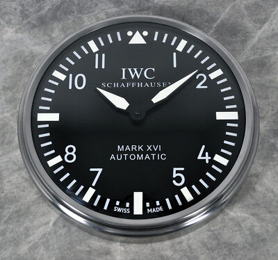 Iwc Schaffhaussen Mark Xvi Automatic Clock Advertising Display