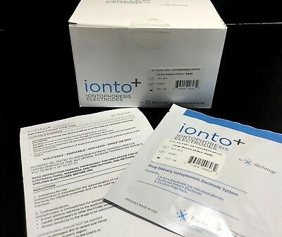 12 sealed RichMar Ionto Plus Hi-Performance Iontophoresis Electrodes - Large kp