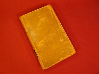 Antique 1839 Pre Civil War Virginia Property Laws Book Indentured Servants Women