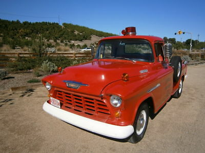 1955 Chevrolet Other Pickups Fire truck 1955 chevy Fire Chief truck 29000 original mile from Murphy California!