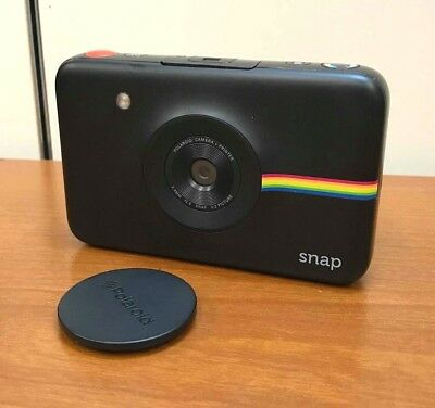 Polaroid Snap Instant Print 10.0MP Black Digital Camera (ONLY) AWESOME!