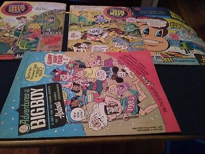 Lot of 4 Vintage Adventures Of The Big Boy Promo Comic Books