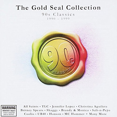 VARIOUS ARTISTS-Gold Seal Collection: 90S Classics 1990-1999 (UK IMPORT)  CD NEW