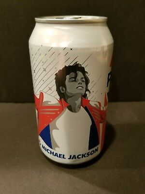 Michael Jackson Pepsi Can 2018 Limited Edition Unopened US Exclusive NEW SEALED