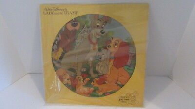 Walt Disneys Lady and the Tramp Record Album Picture Disc EXCELLENT No Reserve