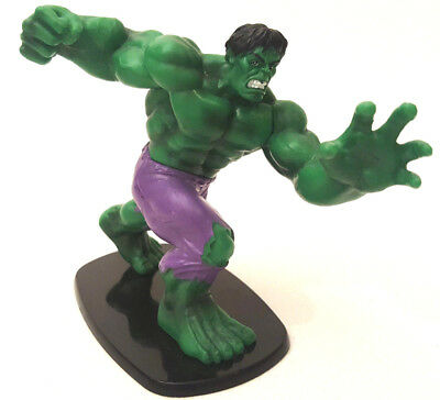 The Incredible Hulk Figure on Base - 2012 Marvel - Approx 4 inch Height - VGC