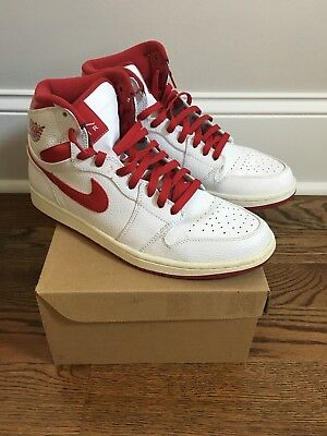 finest selection abeae c7b64 Nike Air Jordan 1 Dtrt Do The Right Thing White Metallic Red Sz 11