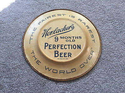 Horlacher's Perfection Beer Plate