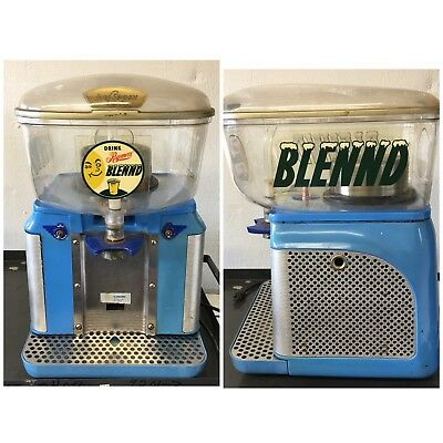 Classic 50's Jet Spray JS-5 Refrigerated Juice Fountain Dispenser Reymers Cooler