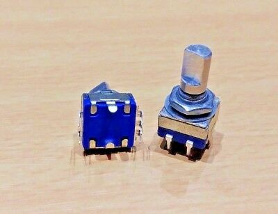 1 PAIR - 12 mm Key Switch Rotary Encoder Switch (with Push Button) (For Arduino)