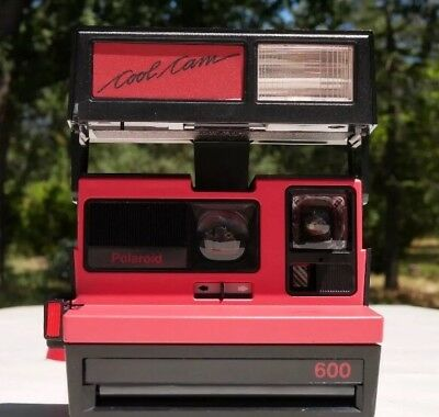 Polaroid 600 Instant Cool Cam Camera with Strap Red