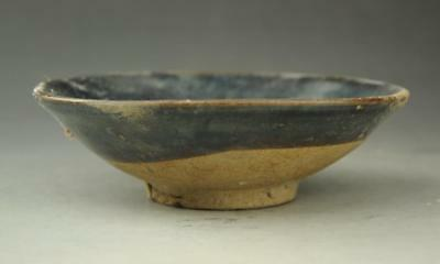 chinese ancient times hand-carved porcelain  old bowl a02