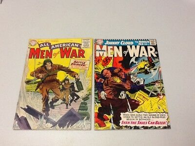 All American Men of War - Lot Of 2 Comics Numbers 29 & 117