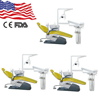 3 pack from USA Dental Chair Unit Computer Controlled TJ2688 A1 4 hole 110V