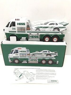 New 2016 Hess Collectible Toy Truck and Dragster MIB