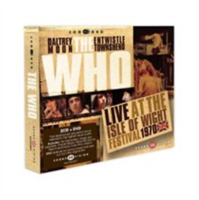 The Who-Live at the IOW Festival 1970  (UK IMPORT)  CD with DVD NEW